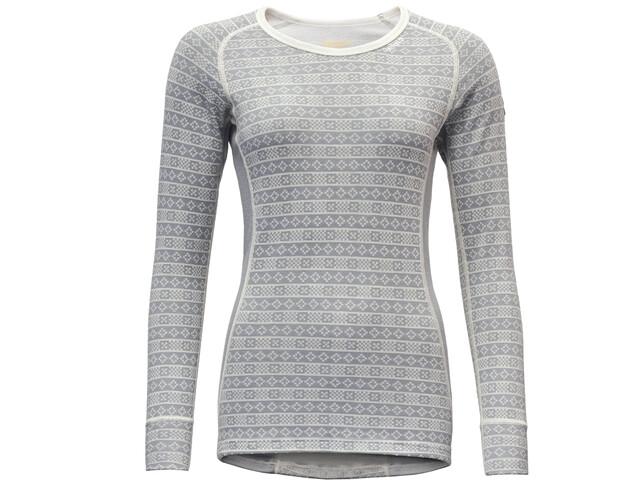 Devold Alnes T-shirt Femme, grey